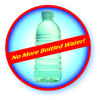 No more bottled water